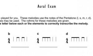 Aural-Exam